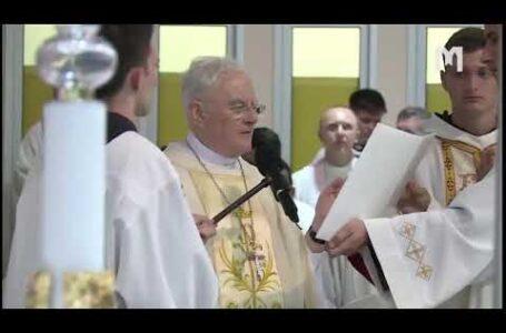 Свята Меса, яку очолив архиєпископ Хенрік Хозер, SAC. Младіфест, Меджуґор'є 04.08.2020