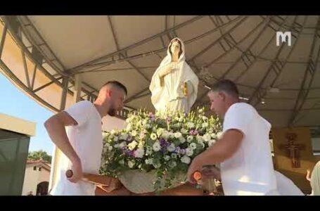 31-й Младіфест: Процесія зі статуєю Богородиці, 02.08.2020