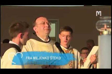 Свята Меса, яку очолив провінціал о. Міленко Штеко, OFM. Младіфест, Меджуґор'є 02.08.2020