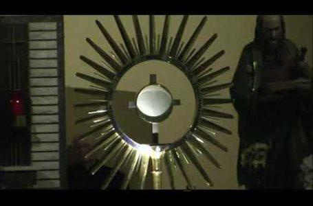 Адорація Пресвятих Дарів, Меджугор'є, 25.11.2020