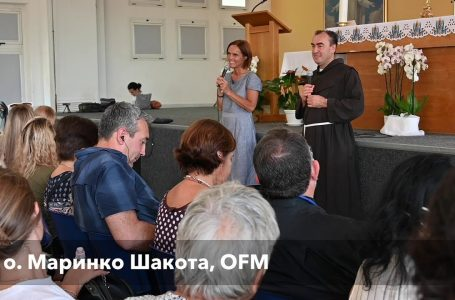"""Катехеза """"У школі Богородиці"""", о. Марінко Шакота , Меджуґор'є, 15.09.2021"""