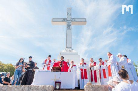 О. Горан Ажіновіч на горі Кріжевац: «Ми ніколи не повинні відрікатися хреста».